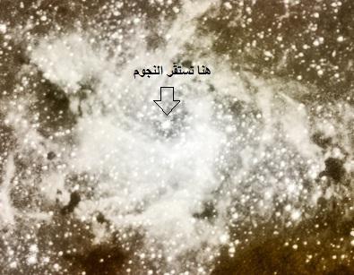 مستقر النجوم، والشمس تجري لمستقر لها - سورة يس